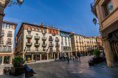 Plaza del Torico, Teruel, Aragon, Spain — Stock Photo