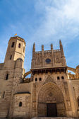 View of the Entrance of Teruel Cathedral — 图库照片