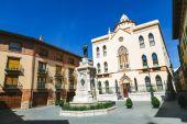 Sagrado Corazon de Jesus Residence in Teruel — Zdjęcie stockowe