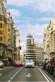 经由街在马德里,西班牙格兰 — 图库照片