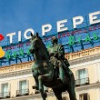 Historical Tio Pepe Sign in La Puerta del Sol square in Madrid — Stock Photo #52920161