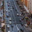 Traffic in Gran Via street, Madrid — Stock Photo #53001375