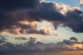 Cloudscape at Sunset — Stockfoto