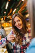 Spanish Women Having a Drink — Stock Photo