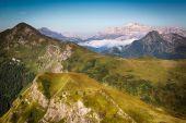 View from Passo Giau, Dolomites, Italian Alps — 图库照片
