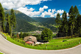 Valley in South Tyrol, Dolomites, Italy — Stock Photo