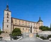 Alcazar of Toledo on a sunny day, Toledo, Spain — Stock Photo