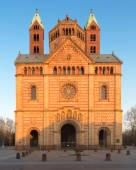 Speyer Cathedral with blue sky, Germany — Stock Photo