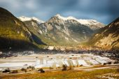 Alpine valley in Tirol, Austria — Stock Photo