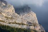 Rock face in Dolomites, Alps, Italy — Stock Photo