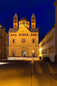 Speyer cathedral at dawn, Pfalz, Germany — Stock Photo