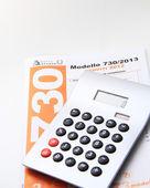 Форма для налогов — Стоковое фото
