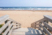 Entrance to Atlantic beach — Stockfoto