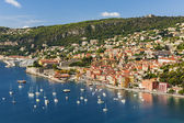 Villefranche-sur-Mer view on French Riviera — Stock Photo