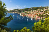 Villefranche-sur-Mer and Cap de Nice on French Riviera — Stock Photo