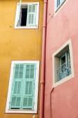 Windows in Villefranche-sur-Mer — Stock Photo