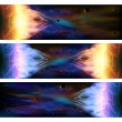 Space banners — Stock Vector #52281105