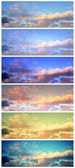 Sky banners — Stock Photo