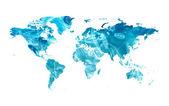 Elektriska karta — Stockfoto