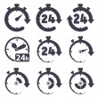 Clock set — Stock Vector #60583075