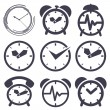 Clock set — Stock Vector #60583079