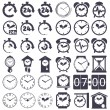 Clock set — Stock Vector #60583081