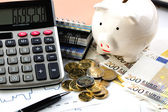 Business accounting — Foto Stock