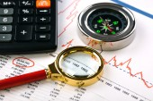 Business accounting — Stock Photo