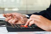 Business accounting — Stok fotoğraf