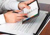 Business accounting — 图库照片