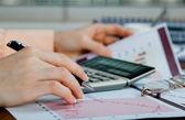 Obchodní účetnictví — Stock fotografie