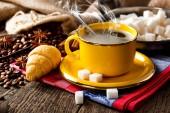 Black coffee — Zdjęcie stockowe