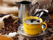 Schwarzer kaffee — Stockfoto