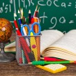 Fall back to school — Stock Photo #75498281
