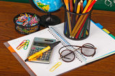 Fall back to school — Stock Photo