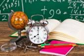 Fall back to school — Zdjęcie stockowe