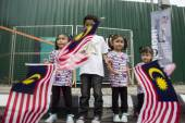 Malaysia Independence Day 57th — Stock Photo