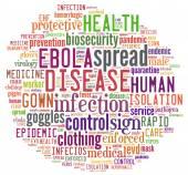 Ebola Cloud — Stock Photo