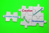 Innovation Process - Leadership Concept — Stock Photo