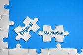 Digital Marketing Text - Business Concept — Stock Photo