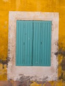 Texture of old window — Stock Photo