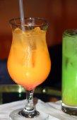 Alcoholic Orange Drink — Fotografia Stock