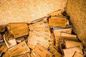 Forgotten documents — Stock Photo