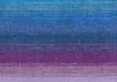 Blue hand-woven fabric — Stock Photo