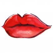Beautiful woman lips — Stock Photo