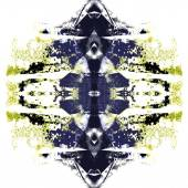 Abstract artistic background forming by blots — Stock Photo