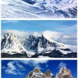 Snowy mountains — Stock Photo #52814573