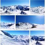 Snowy mountains — Stock Photo #52814579