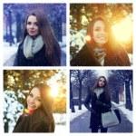 Winter portraits — Stock Photo #52814655