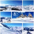 Snowy mountains — Stock Photo #52814799